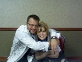 Me and Steve Blum by AxelSweeneyTodd