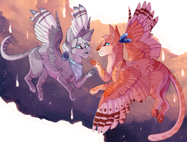Silver and Gold by MapleSpyder