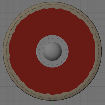 Viking Shield Front WIP by Beowulf71