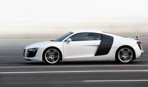 Audi R8 in motion by 1-s-t