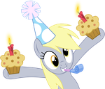 MLP: Derpy's muffin-party! by FloppyChiptunes