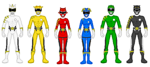 Kaiserverse - Power Rangers Wild Beasts by Kaiserf11