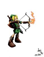 Young Link by pnutink