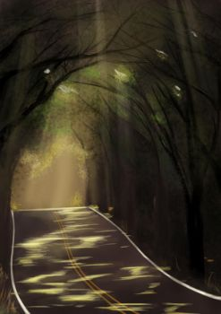 The road ahead by Huksly