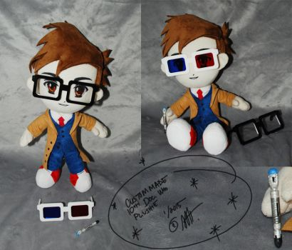 10th Doctor Who C.M.P. by sewcuteplushies