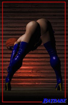 sexy pinup by JessyDee