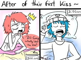 what about the kiss? by diligi