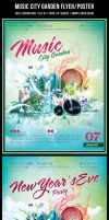 Music City Garden Flyer by Minkki2fly