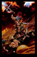 cary nord 2. conan colored by bek76