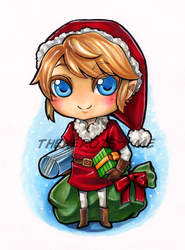 Santa Link by Theherois--me