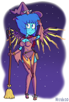 Merciful Water Witch by Mrcrabx10