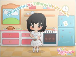 Welcome to Tiffany's kitchen! - Commission by Rinashu