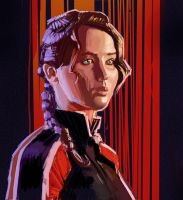 Katniss by amherman