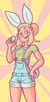 Noelle - Easter 2017 by Ruff-Sketches