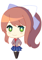 Monika (Commission) (Pineapple-poops) by kangaroo722