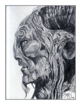 Face Of A Faun by Mars-Eleven