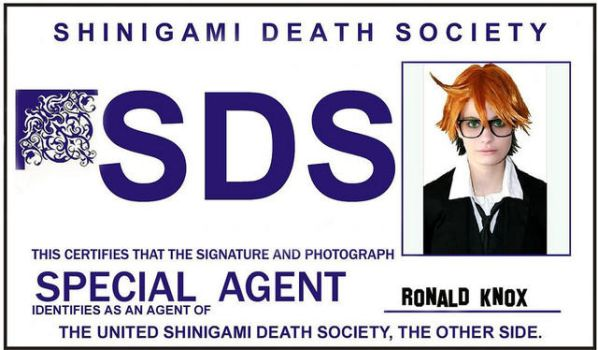 SDS ID Card by kurui-chan