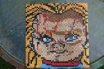 Chucky Perler Large  by ZombieLolitaPrincess