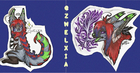 Zwelxia Badges by Zwelx