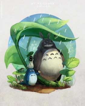 Totoro by thiever