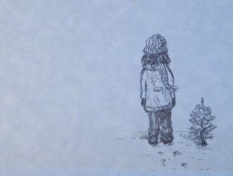 Winter Child by eulenfeder