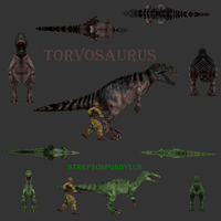 Carnivores Fallen Kings: new models by Keegz97