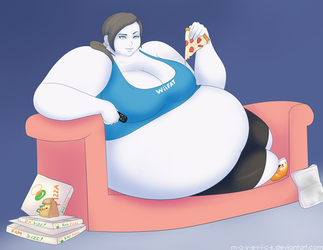 Wii-fat by M-a-v-e-r-i-c-k