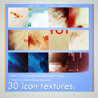 30 icon textures - shake real by yunyunsarang
