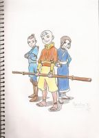 Avatar: The Last Airbender by Hecatia10