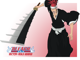 Renji Abarai Vector PREVIEW by TattyDesigns
