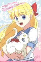 Sailor Venus Official Birthday is today by skimlines