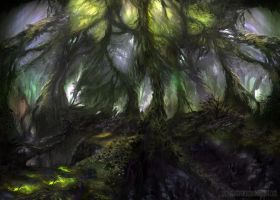 The emerald forest by lavam00