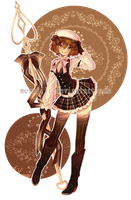 .:: Chocolate Girl ::. by Suiisei