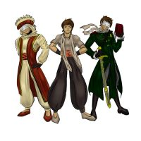 Hetalia Turkey 3 in 1 by Klika-lio