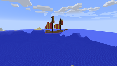 Dutch topsail caravel style ship by ColtCoyote