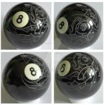 engraved Trixie 8-ball by rtry