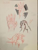 Hands  by Ailizerbee08