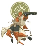 Hellboy Colored A by paco850