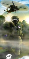 Foggy Combat by Panzerfire