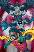 Batman Batman and Robin by RamonVillalobos