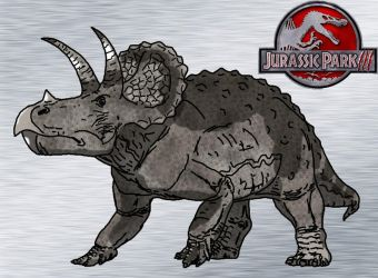 Triceratops prorsus by kingrexy