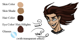 Brian color sheet - temp by Ixbran