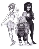 The Crystal Gems by Toadiko25