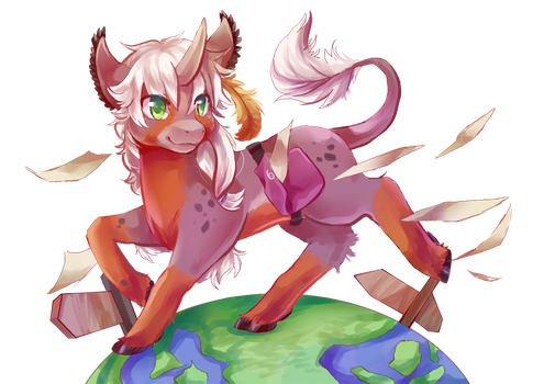 This is just a tiny world by lalaliluleloha