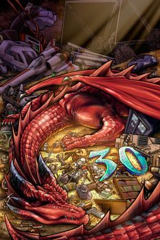 Dragon's Hoard by AdamWithers