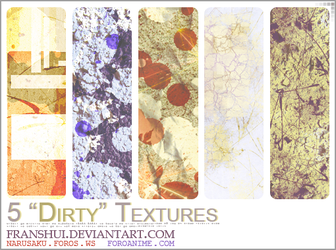 Dirty Textures by Franshui