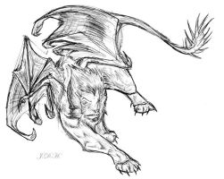 Manticore by JoJoBynxFwee