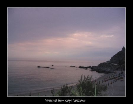 Postcard from Capo Vaticano by sephi