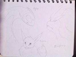 [02/09/2017] Alpha, Zephira and Eyquo by LuckyFy