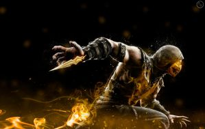 Mortal Kombat X - Scorpion by General-K1MB0